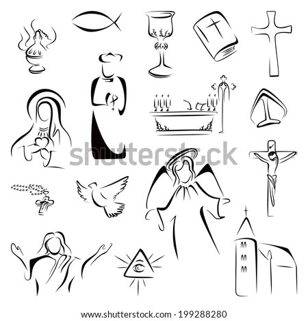 Religion Symbols Stock Images, Royalty-Free Images