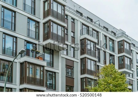 Apartment Exterior Stock Images, Royaltyfree Images