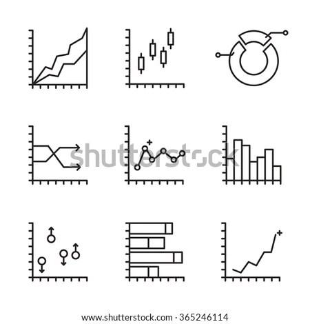 Statistics Icon Stock Photos, Royalty-Free Images