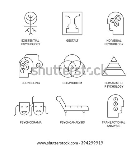 Symbols Different Psychology Theories Including