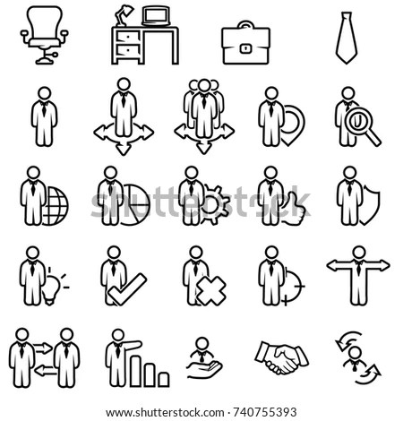 Human Resources Icon Stock Images, Royalty-Free Images