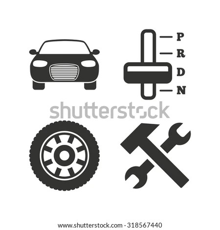 Car Gearbox Symbols Car Free Engine Image For User