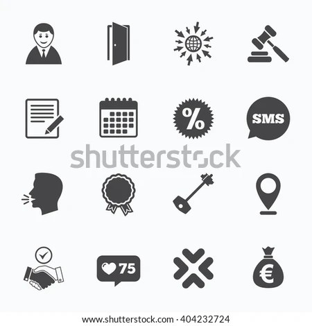 Strike Icon Storm Bad Weather Group Stock Vector 562744873