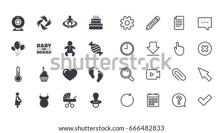 Pregnant Icon Stock Images, Royalty-Free Images & Vectors