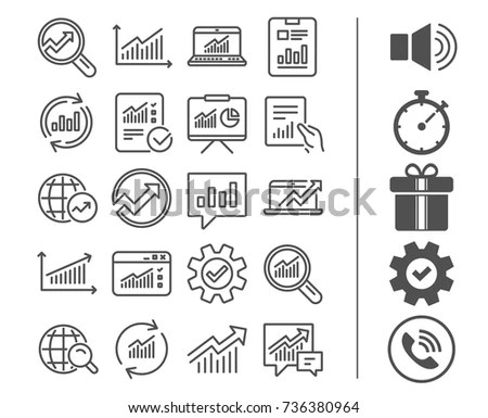 Set 30 Quality Icons About Project Stock Vector 706759555