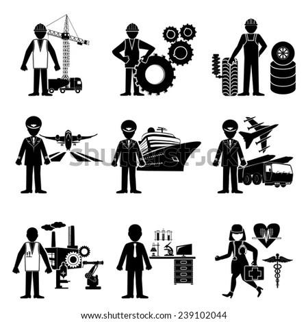 Student Degree Engineering Stick Figure Pictogram Stock