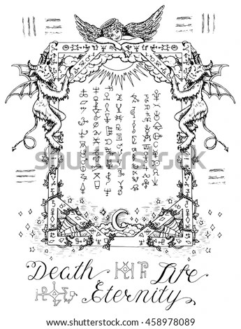 Hell Background Coloring Pages