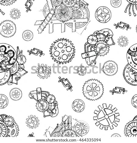 Coloring Engineering Cogs Coloring Pages
