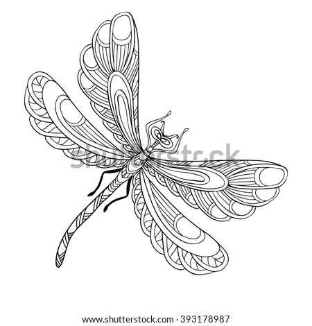 Dragonfly Vector Stock Photos, Royalty-Free Images