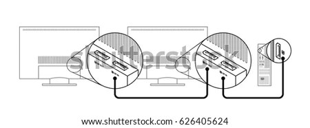 Displayport Stock Images, Royalty-Free Images & Vectors