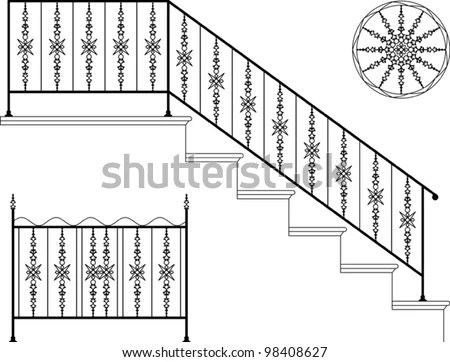 Wrought Iron Railing Stock Images, Royalty-Free Images