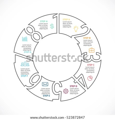 3 Circle Cycle Diagram Template KWL Chart Template Wiring