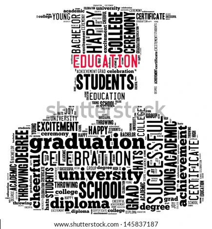 Graduation Words Stock Images, Royalty-Free Images