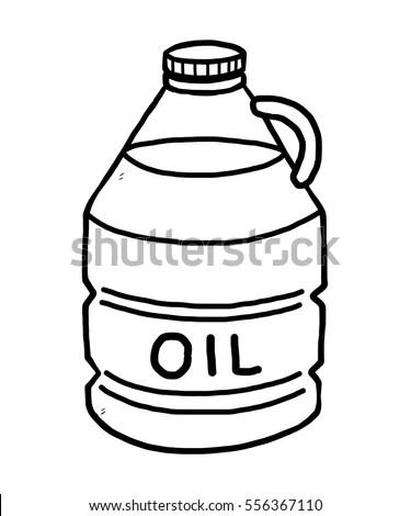 Drink Water Bottle Cartoon Vector Illustration Stock