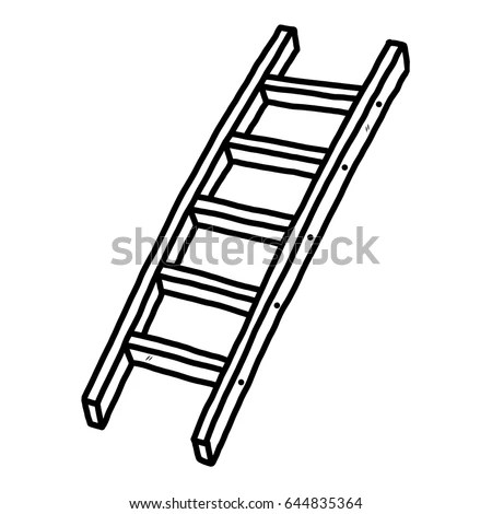 Ladder Drawing Cartoon Stock Images, Royalty-Free Images
