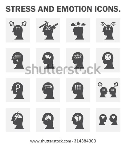 Stress Icon Stock Images, Royalty-Free Images & Vectors