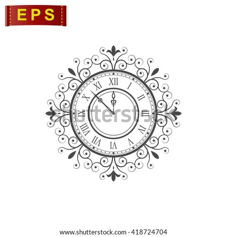 Clock Drawing Wall Stock Images, Royalty-Free Images