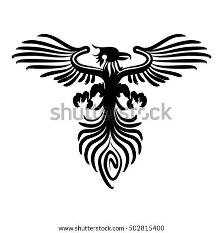 Dragons Sword Logo Template Stock Vector 327883406