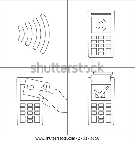 Contactless Payments Stock Photos, Images, & Pictures