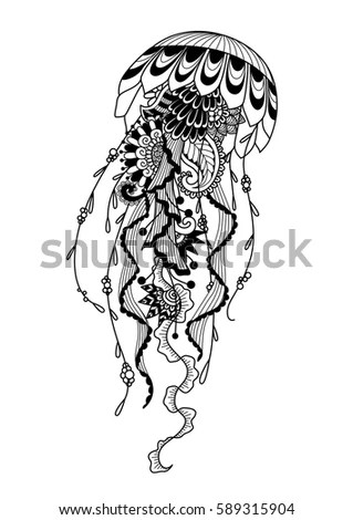 Dream Catcher Protection American Indians Stock Vector