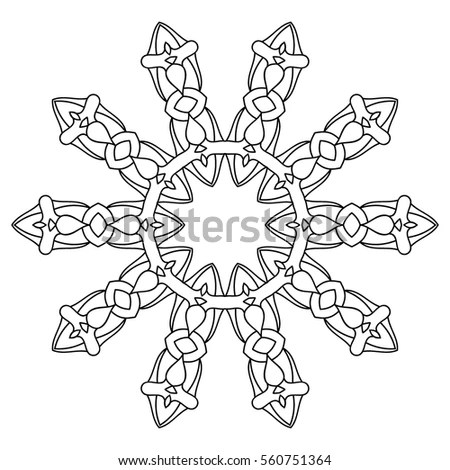 Vintage Style Human Hands Sacred Geometry Stock Vector