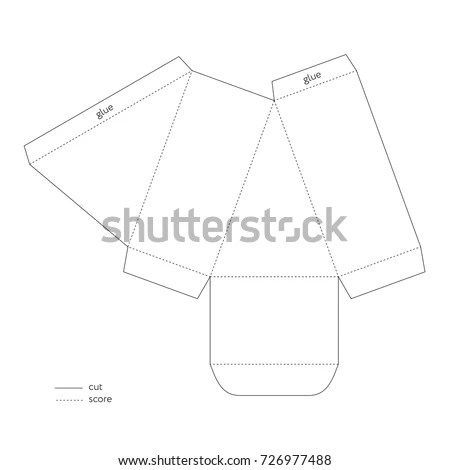 Triangle Box Template Stock Images, Royalty-Free Images
