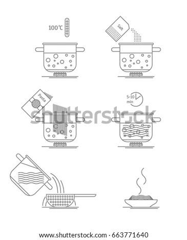 Hand Drawn Sketch Vector Icons Sewing Stock Vector