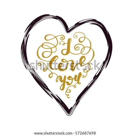 Download Heart Arrow Saying You Me On Stock Vector 242869393 ...