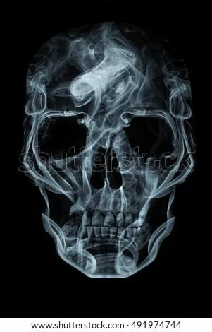 Smoke Skull Stock Images RoyaltyFree Images  Vectors