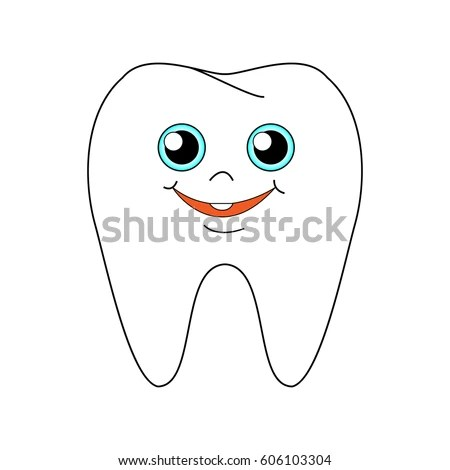 Cartoon Smile Teeth Stock Images, Royalty-Free Images