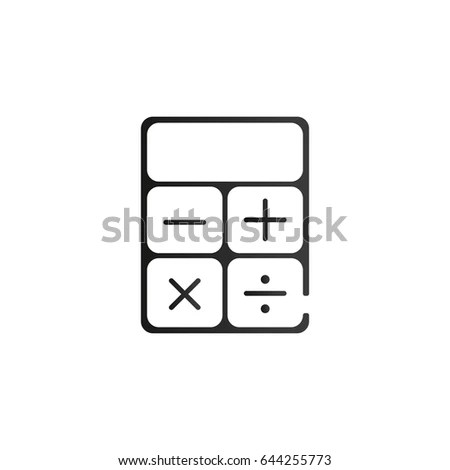 Calculator Silhouette Stock Images, Royalty-Free Images