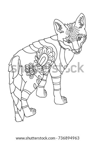 Adult Coloring Pages Stock Images, Royalty-Free Images