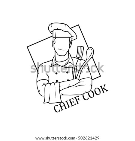 Chef Chef Drawing Chef Vector Chef Stock Vector 502621429