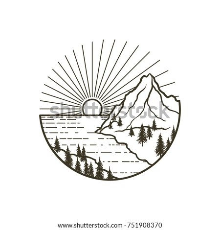Mountain Tattoo Stock Images, Royalty-Free Images