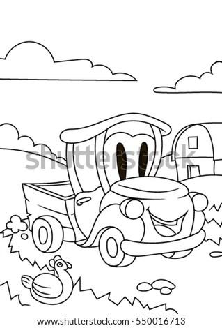 Cartoon Cars Stock Photos, Royalty-Free Images & Vectors