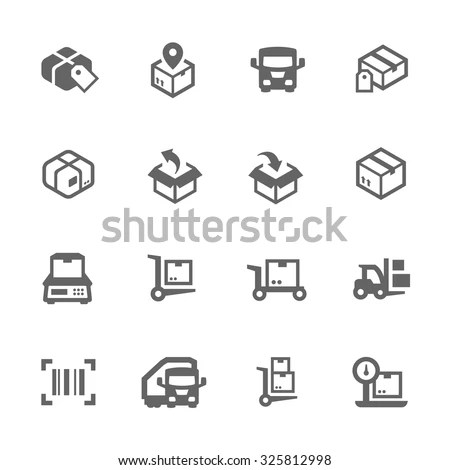Merchandise Icon Stock Images, Royalty-Free Images