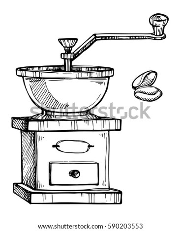 Coffee Grinder Stock Images, Royalty-Free Images & Vectors