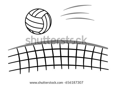 Volleyball Vector Stock Images, Royalty-Free Images