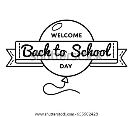 Welcome Back To School Stock Images, Royalty-Free Images