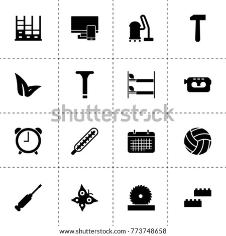 Vector Building Design Icons Set Layout 스톡 벡터 160204307