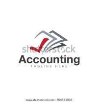Accounting Logo Design Stock Vector 604541036 - Shutterstock