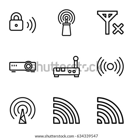 No Wifi Symbol Stock Images, Royalty-Free Images & Vectors