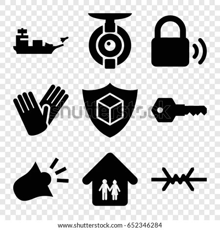 Military Family Silhouette Stock Images, Royalty-Free