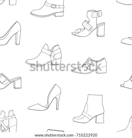 Shoe Type Stock Images, Royalty-Free Images & Vectors