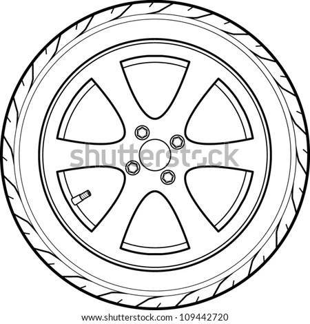 Tires and wheels Stock Photos, Images, & Pictures