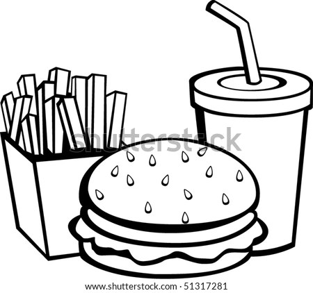 Sack Coffee Beans Sugar Cup Outline Stock Vector 407359942