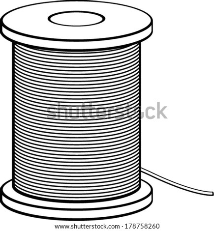 Cable Spool Stock Images, Royalty-Free Images & Vectors