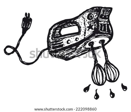 Hand Beater Non Electric, Hand, Free Engine Image For User