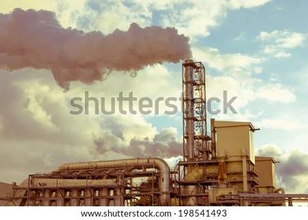industrial landscape stock