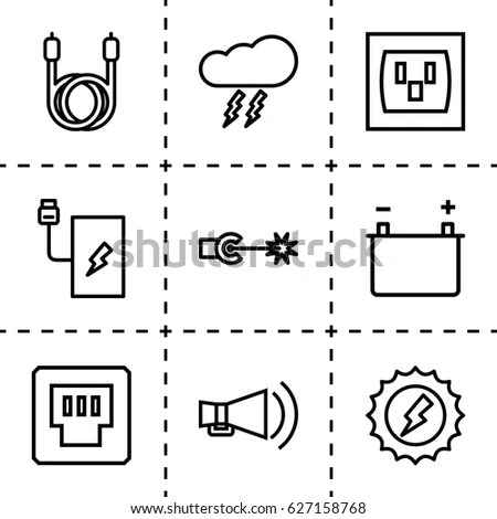 Electric Cable Stock Images, Royalty-Free Images & Vectors